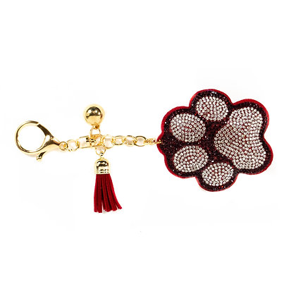 Red Dog Paw Key Chain - Model: 257 31311
