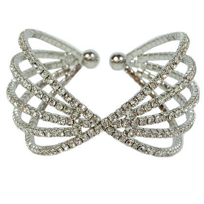 Silver Rhinestone Bracelet