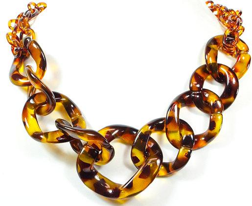 Vintage Leopard Necklace - Model: 19-7161828