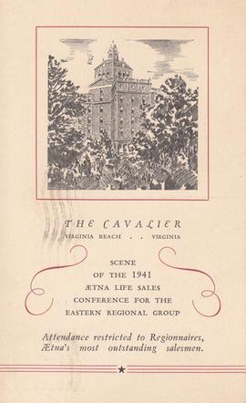 Cavalier Hotel 1941