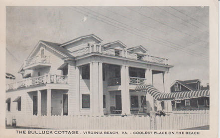 The Bulluck Cottage 1953