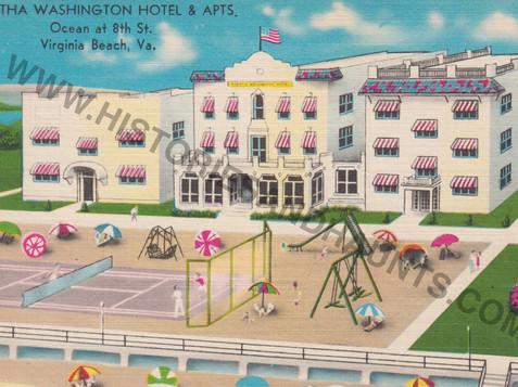 Martha Washington Hotel & Apts - undated