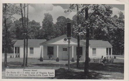 The Pinerest Motel 1957