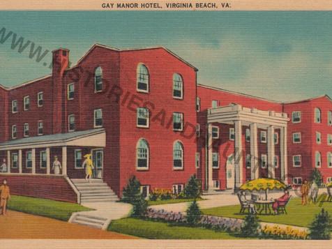 Gay Manor Hotel - 1949
