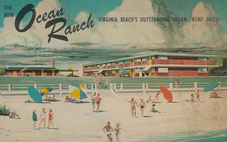 Ocean Ranch Motel 1957