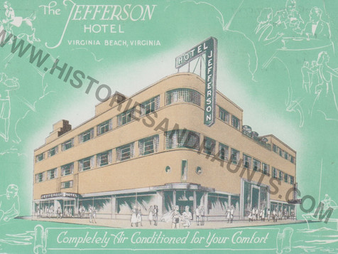 Jefferson Hotel - undated