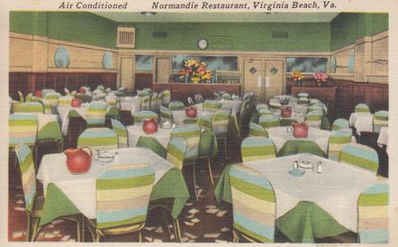 Normandie Restaurant 1959