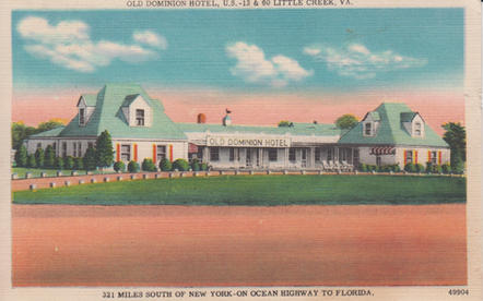 Old Dominion Motel 1951