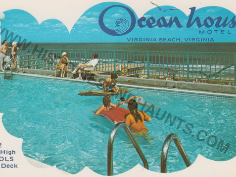 Ocean house Motel - undated