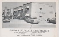 Ruddee Motel Apts, 1958