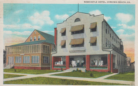 Newcastle Hotel 1933