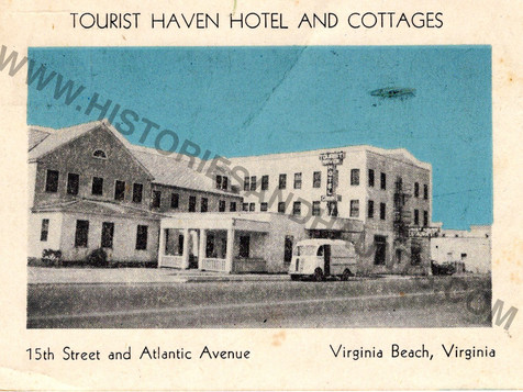 Tourist Haven Hotel and Cottages - 1948