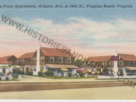 Sea Pines Apartments - 1950