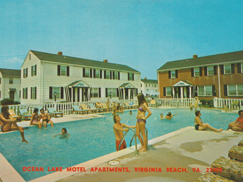 Ocean Lake Motel - undated