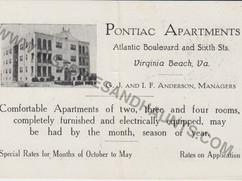 Pontiac Apartments - undated
