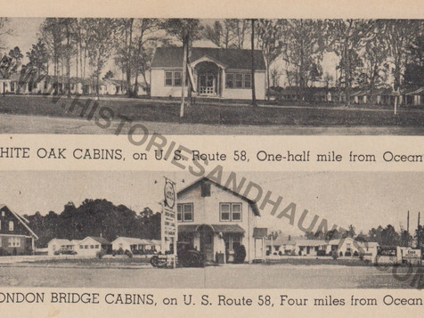 White Oak and London Bridge Cabins - undated