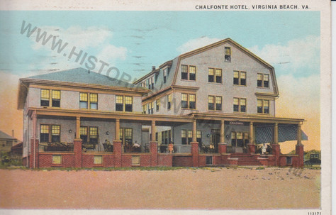 The Chalfonte Hotel - 1941