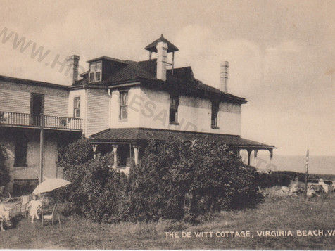 de Witt Cottage - undated