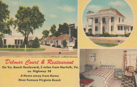 Delmar Court 1950