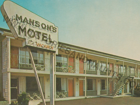 Manson's Motel - undated