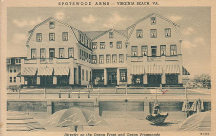 The Spotswood Arms 1943