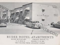 Rudee Motel Apartments - 1958