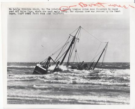 Ship Wreck 1950