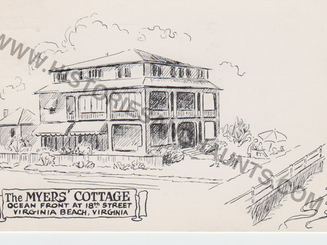 Myer's Cottage - 1961