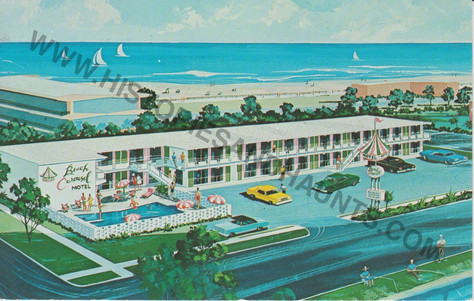 Beach Carousel Motel and Apartments - undated