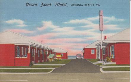 Ocean Front Motel 1955