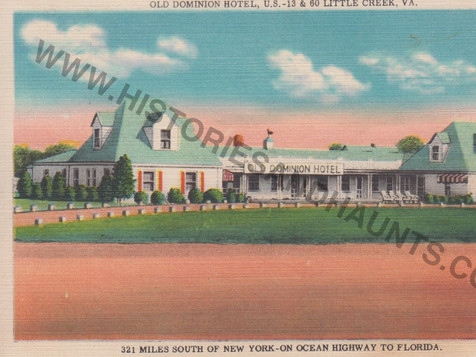 Old Dominion Hotel - 1951