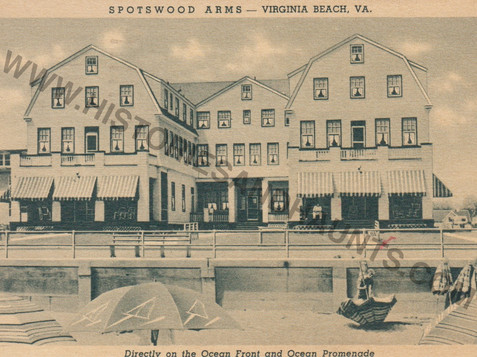 Spotswood Arms - 1943
