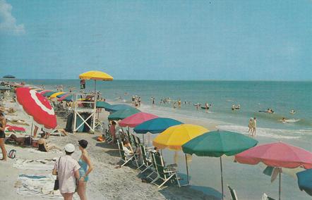 Beach Scene 1958