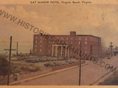 Gay Manor Hotel - 1951