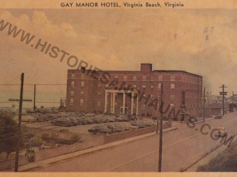 Gay Manor Hotel - 1951