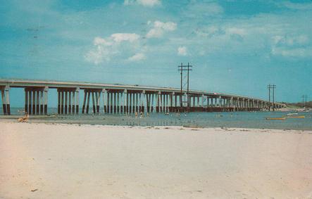 The Lynnhaven Bridge 1959