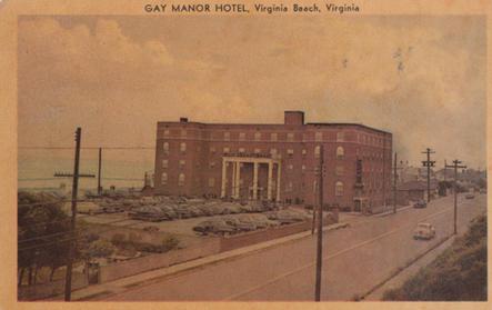 The Gay Manor Hotel 1951