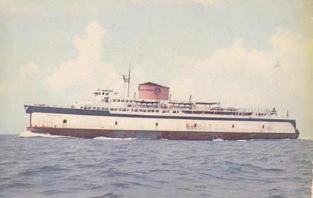 The Ferry Pocahontas 1958