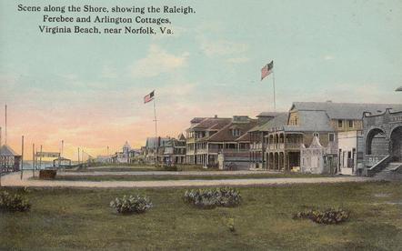 Cottage Row 1913