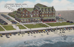 Courtney Terrace Hotel - 1954
