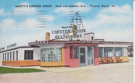 Marty's Lobster House 1952