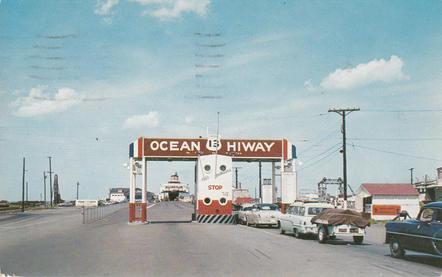Ferry Dock 1955