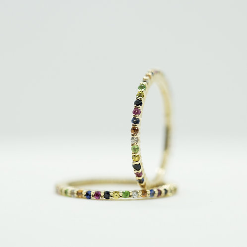 Rainbow Ring - SIZE 6.5