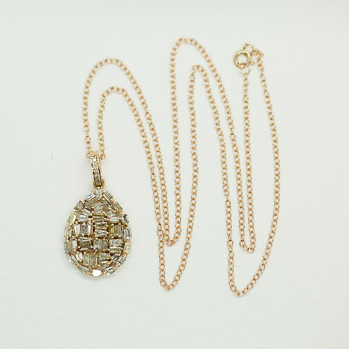 Rose Gold & Diamond Necklace