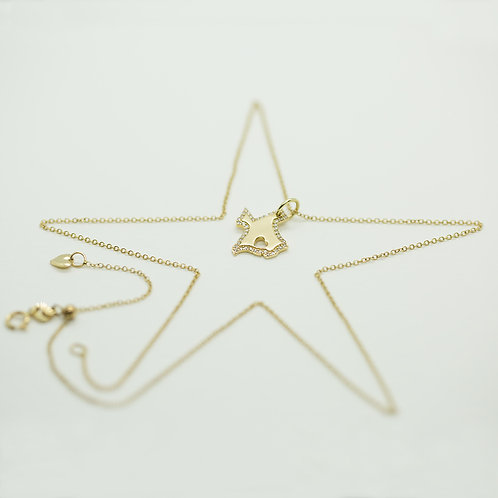 Diamond Texas Charm Necklace - SOLD OUT