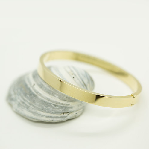 Hinged Bangle by GGJ