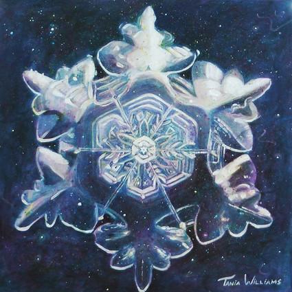 Luminous Dreams of Gentle Snow