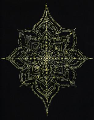 Gold Star Mandala