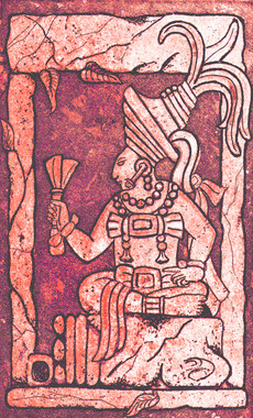 Copan Ruler from Altar Q