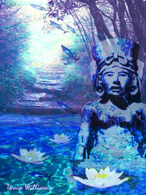 Aztec Water Godess